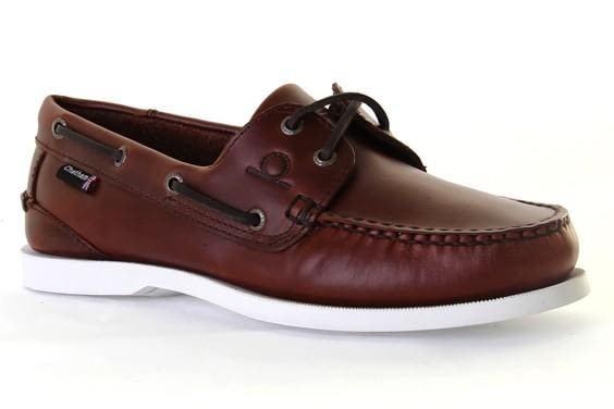 Chatham Classic Big Size G2 Boat Shoe in Seahorse