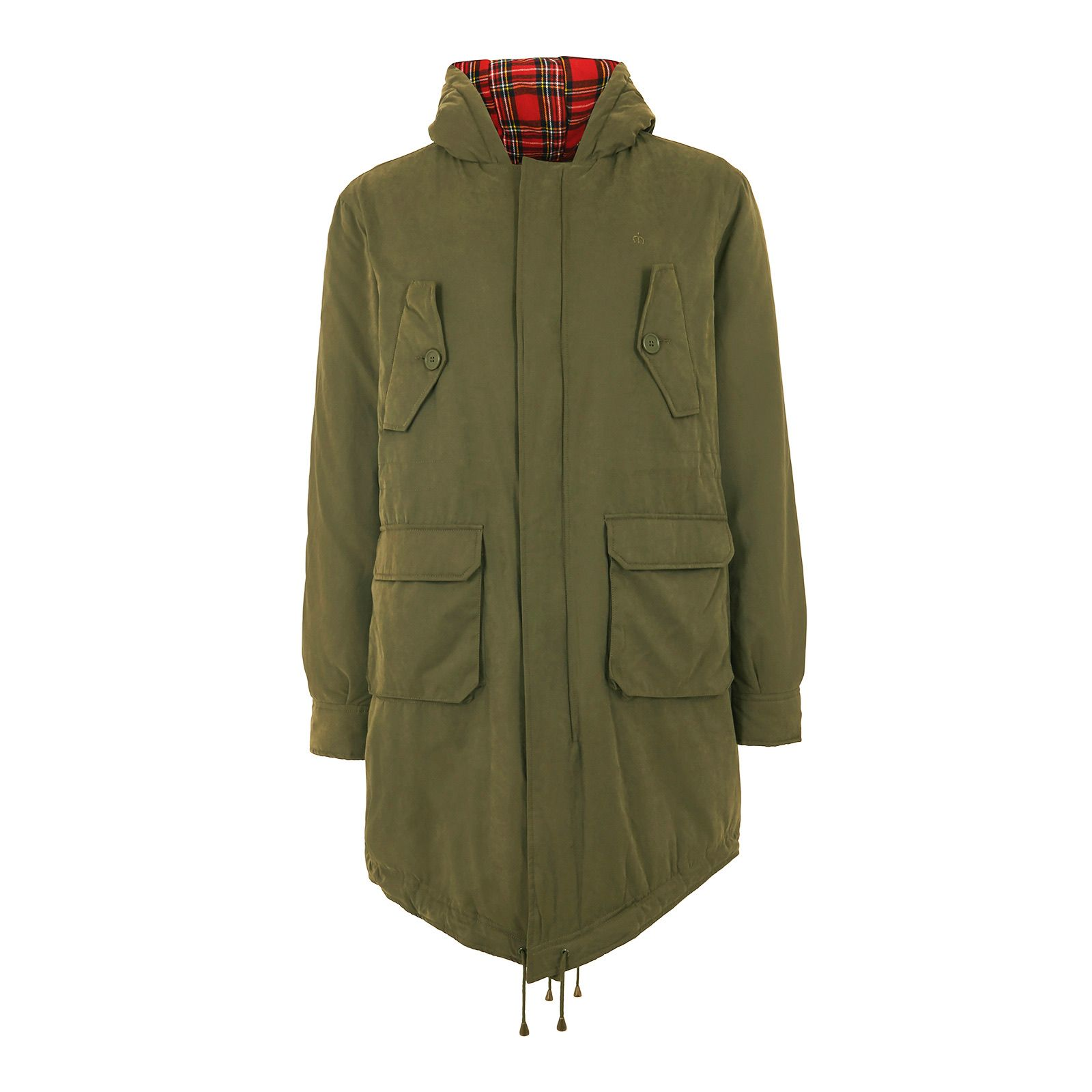 Merc TOBIAS FISHTAIL PARKA in Combat Green