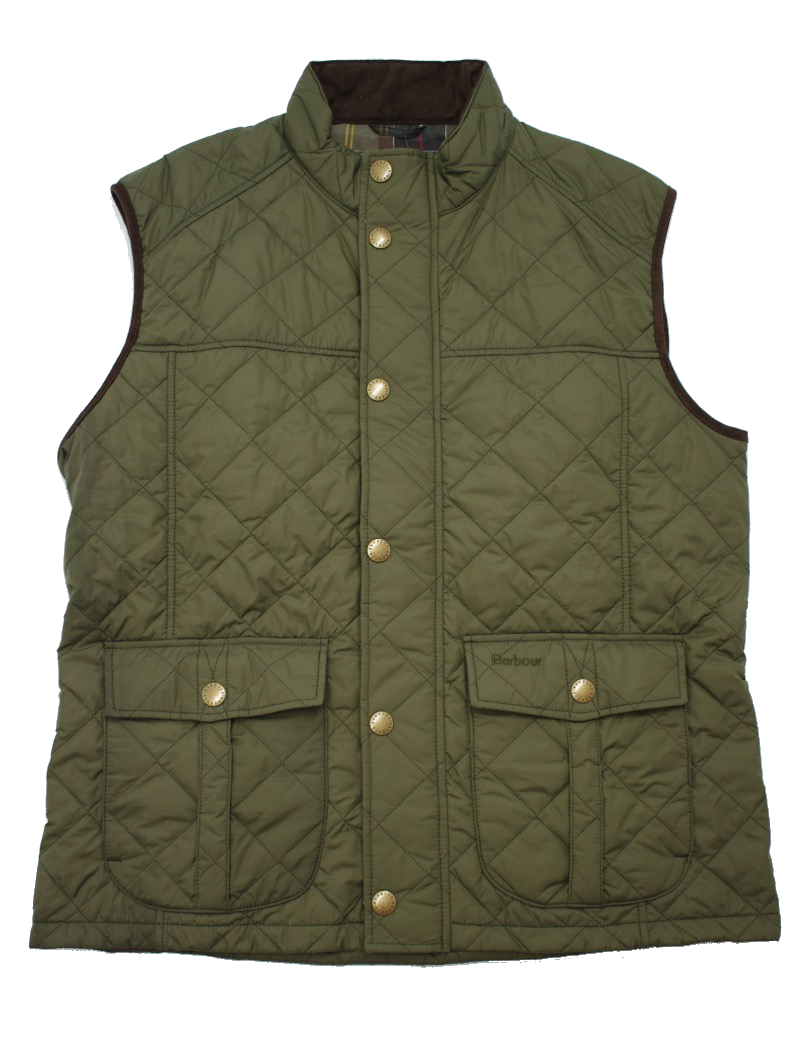 Barbour Explorer Gilet in Olive