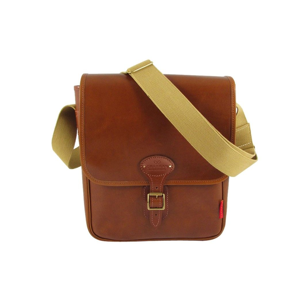 612410d22c60 Chapman Reiver Leather Despatch Bag in Brown