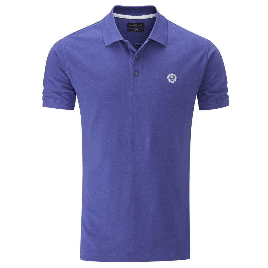 Henri Lloyd Cowes Regular Polo in Azure Blue
