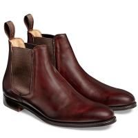 Joseph Cheaney Threadneedle Chelsea Boot in Burgundy