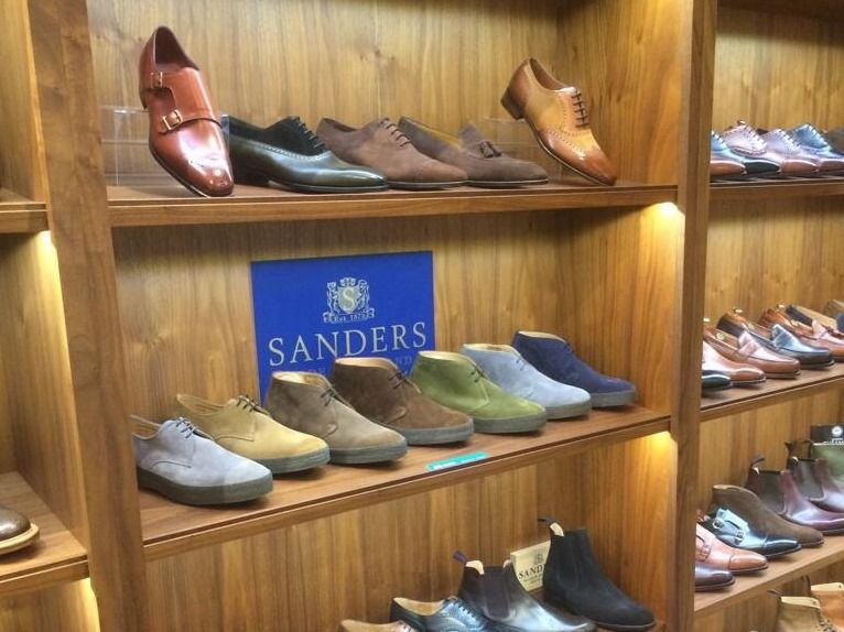 Sanders at English Brands