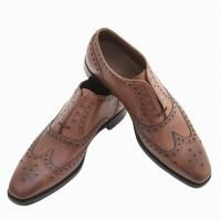 Joseph Cheaney Litchfielf Brogue in Mahogany