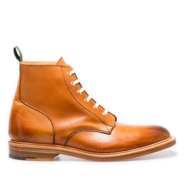 NPS Shoes Gladstone 6 Eye Derby Boots in Acorn