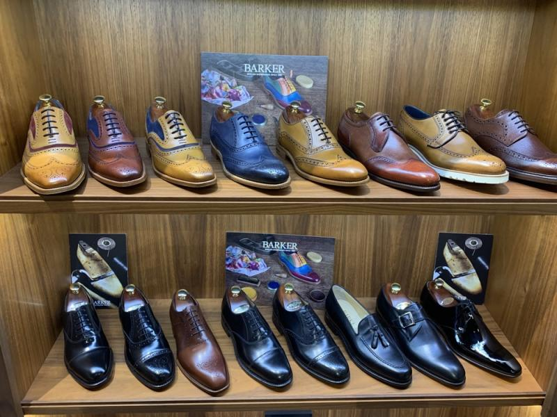 Barker Shoes at English Brands