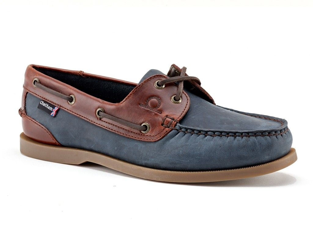 Chatham Bermuda II G2 Boat Shoe in Navy