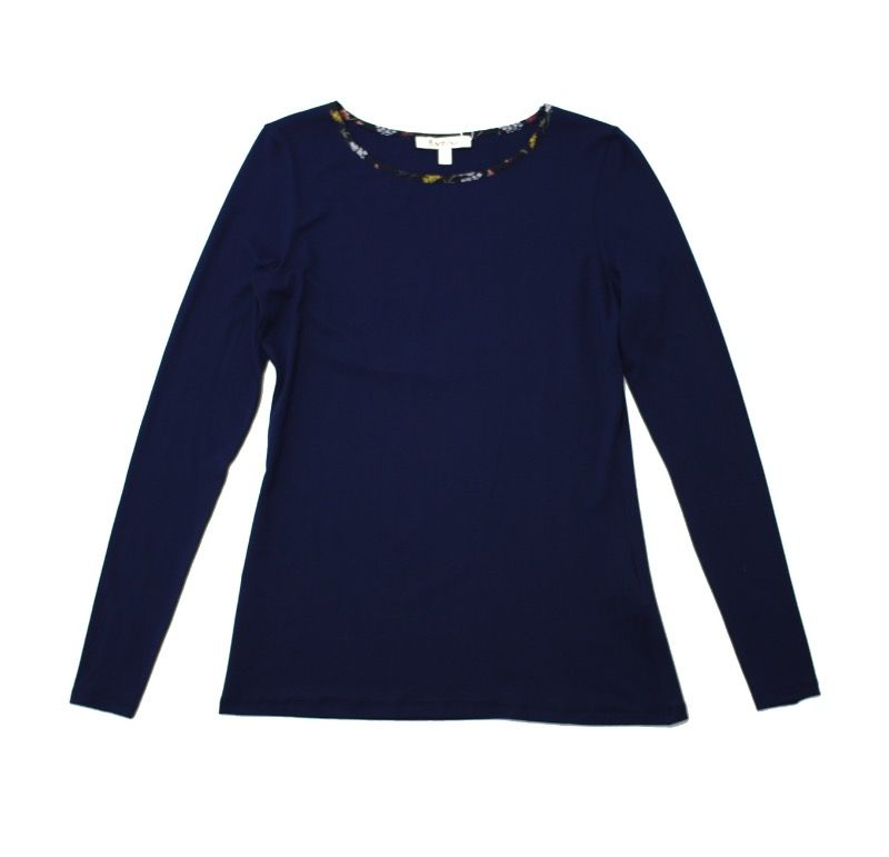 Barbour Parcveval Top in Navy