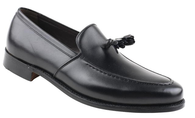 Barker Ramsden Tassel Loafer Black Calf
