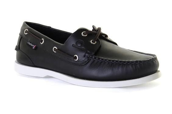 Chatham Classic Big Size G2 Boat Shoe in Navy