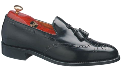 Barker Clive Shoe in Black