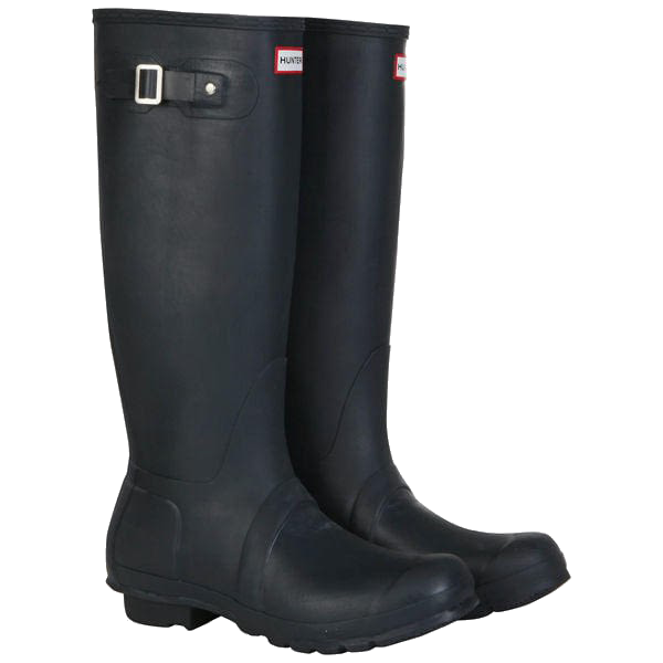 Hunter Orginal Adjustable Unisex High Boot Welly Navy