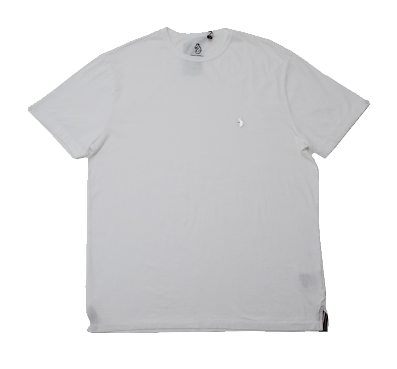 Luke Skinny Charmers Slim Fit T-shirt in White