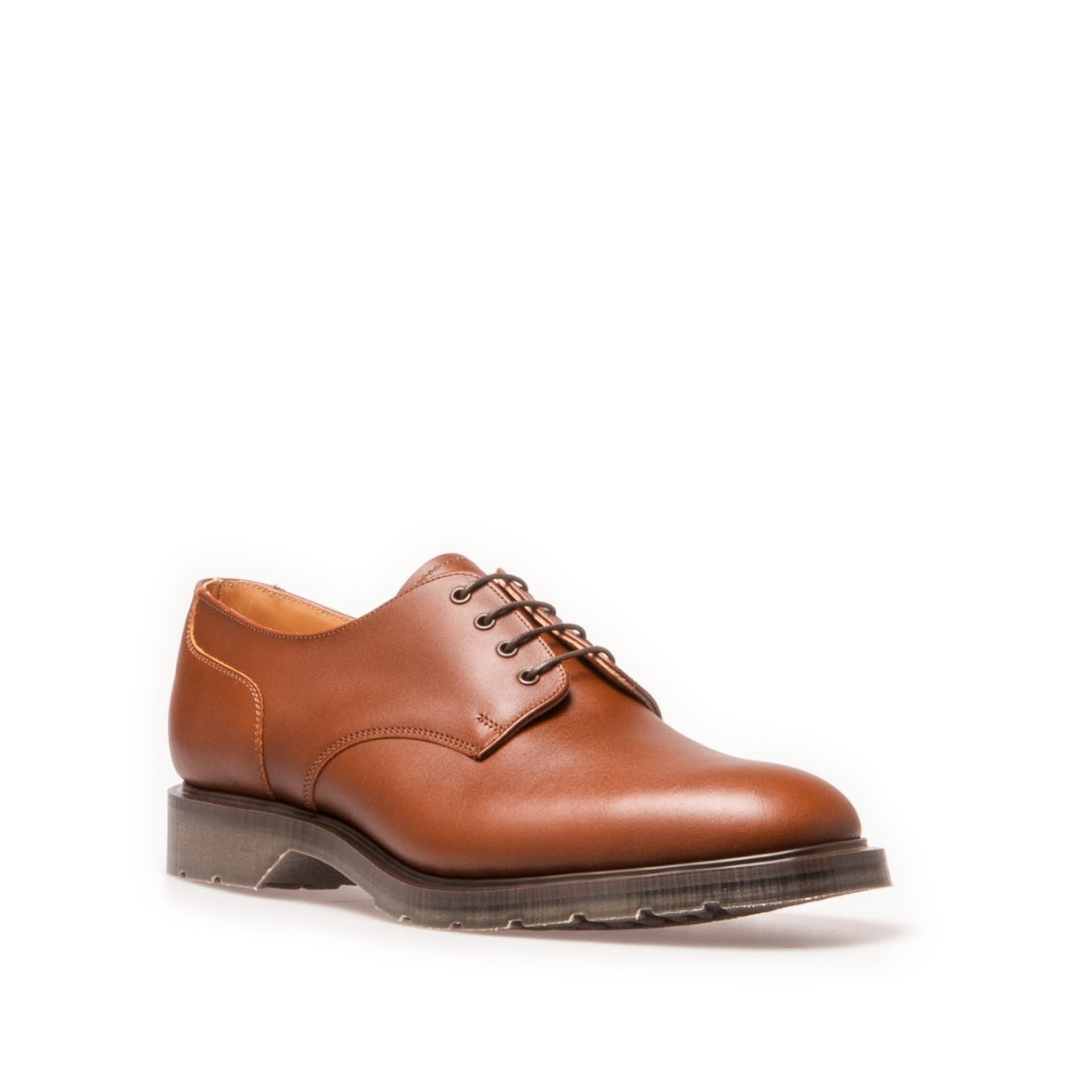 Solovair Gibson Shoe In Chestnut
