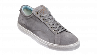 Barker Axel Sneakers In Grey Suede