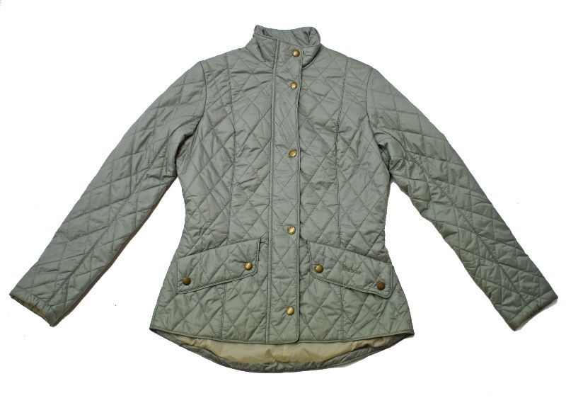 Barbour Flyweight Cavalry Quilted Jacket in Green