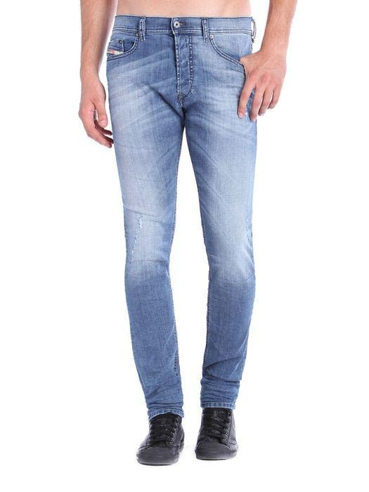 Diesel Tepphar Stonewashed Slim Taper Fit Denim Jean