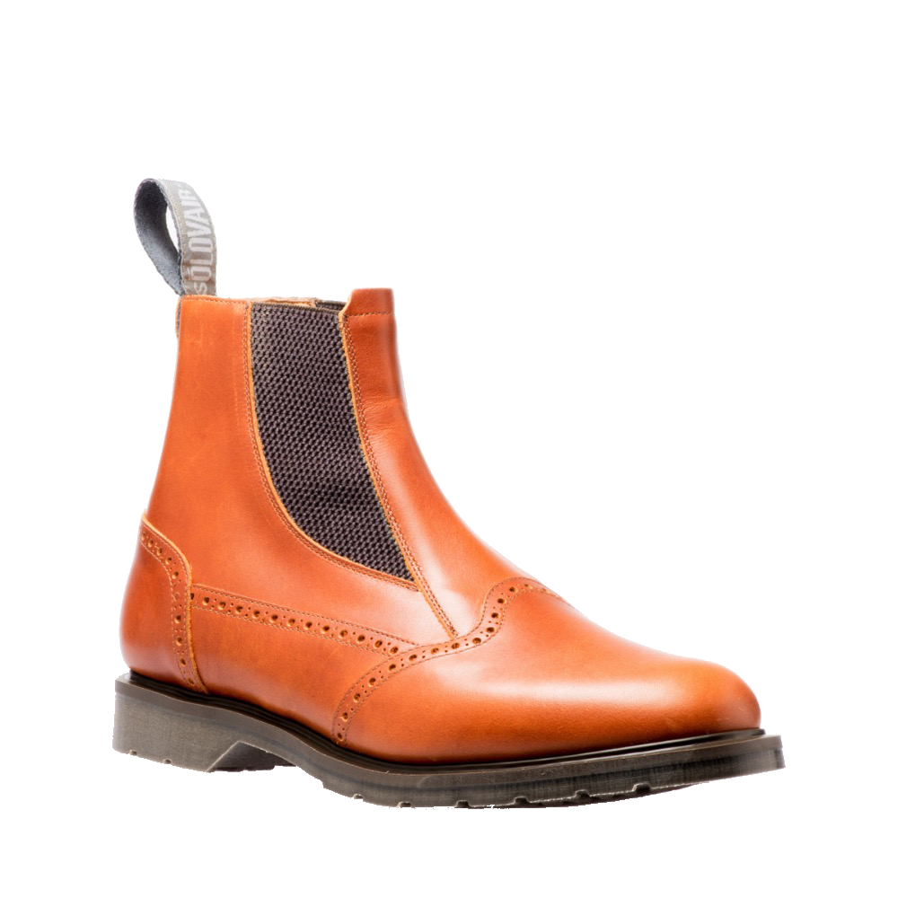 Solovair Dealer Boot in Brown