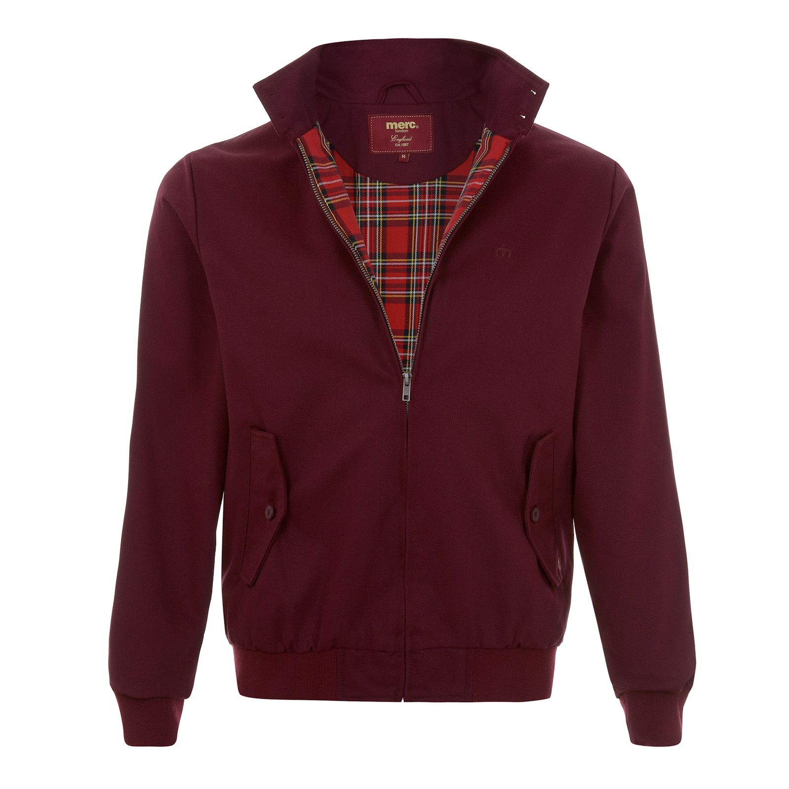 Merc Harrington Jacket in Wine