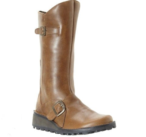 Fly London Mes High Boot Camel