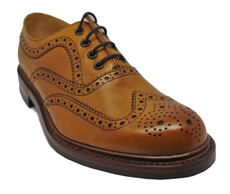 Loake Edward Brogues in Tan