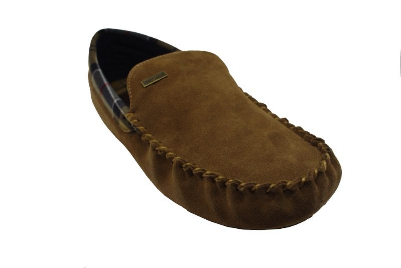 Barbour Bobby Slipper in Camel
