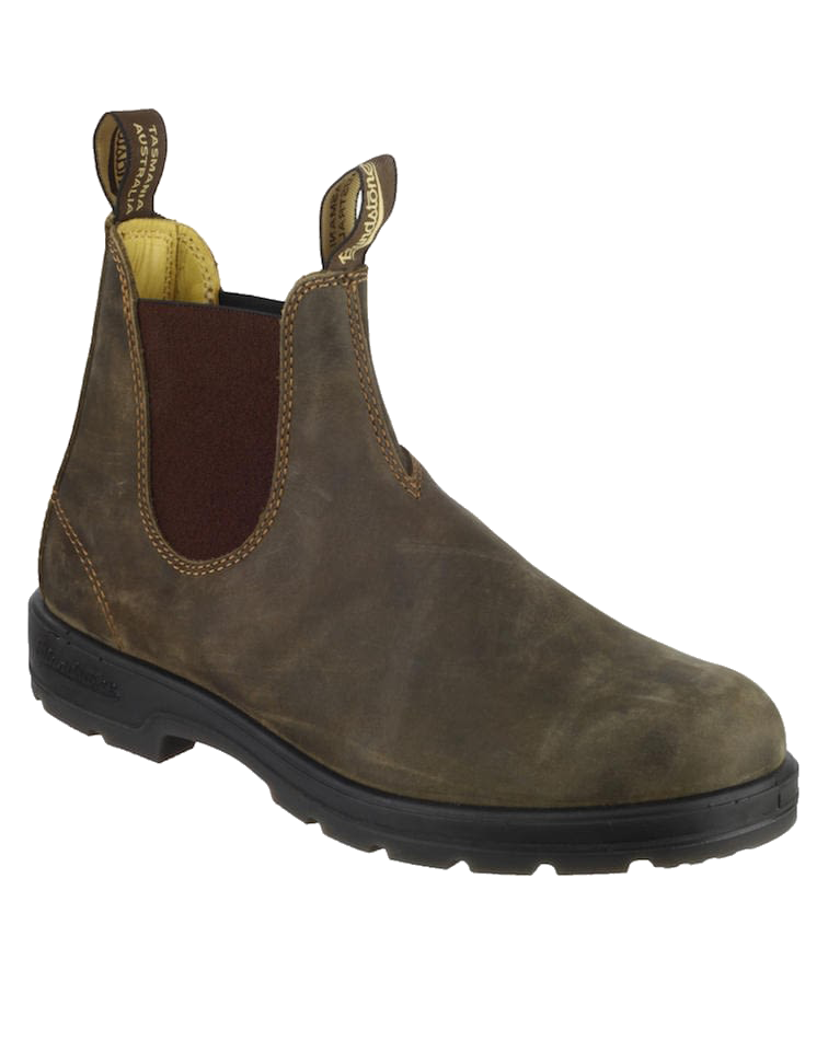 Blundstone 585 Chelsea Boot in Rustic Brown