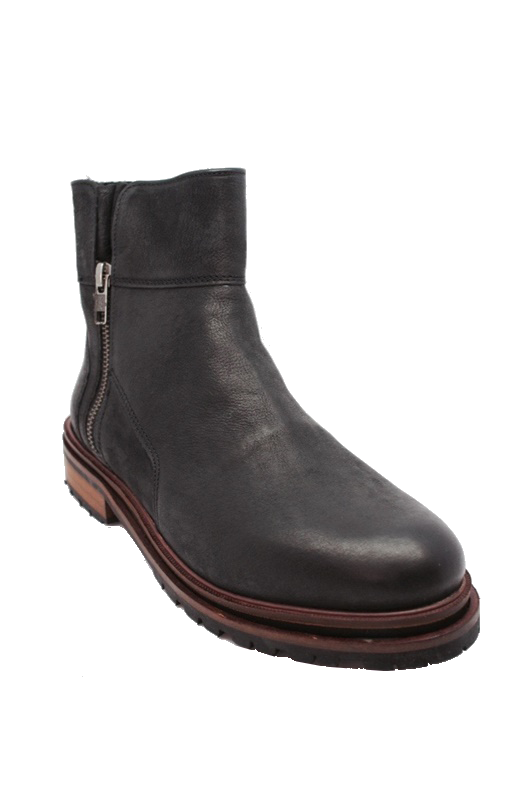 Hudson Askern Low Boot in Black