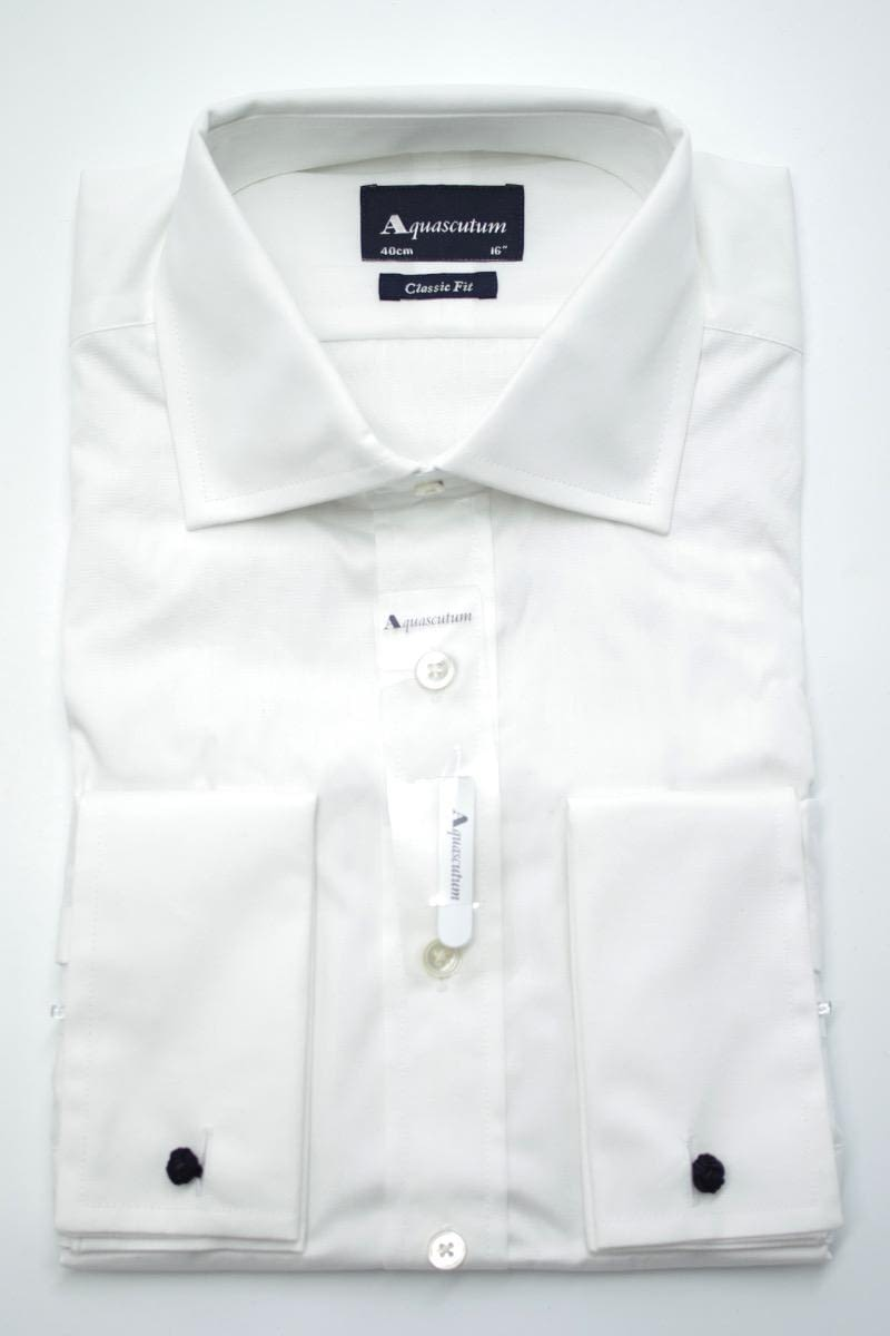 Aquascutum Canterbury Formal Shirt in White