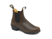Blundstone 1673 Heel Boots In Antique Brown