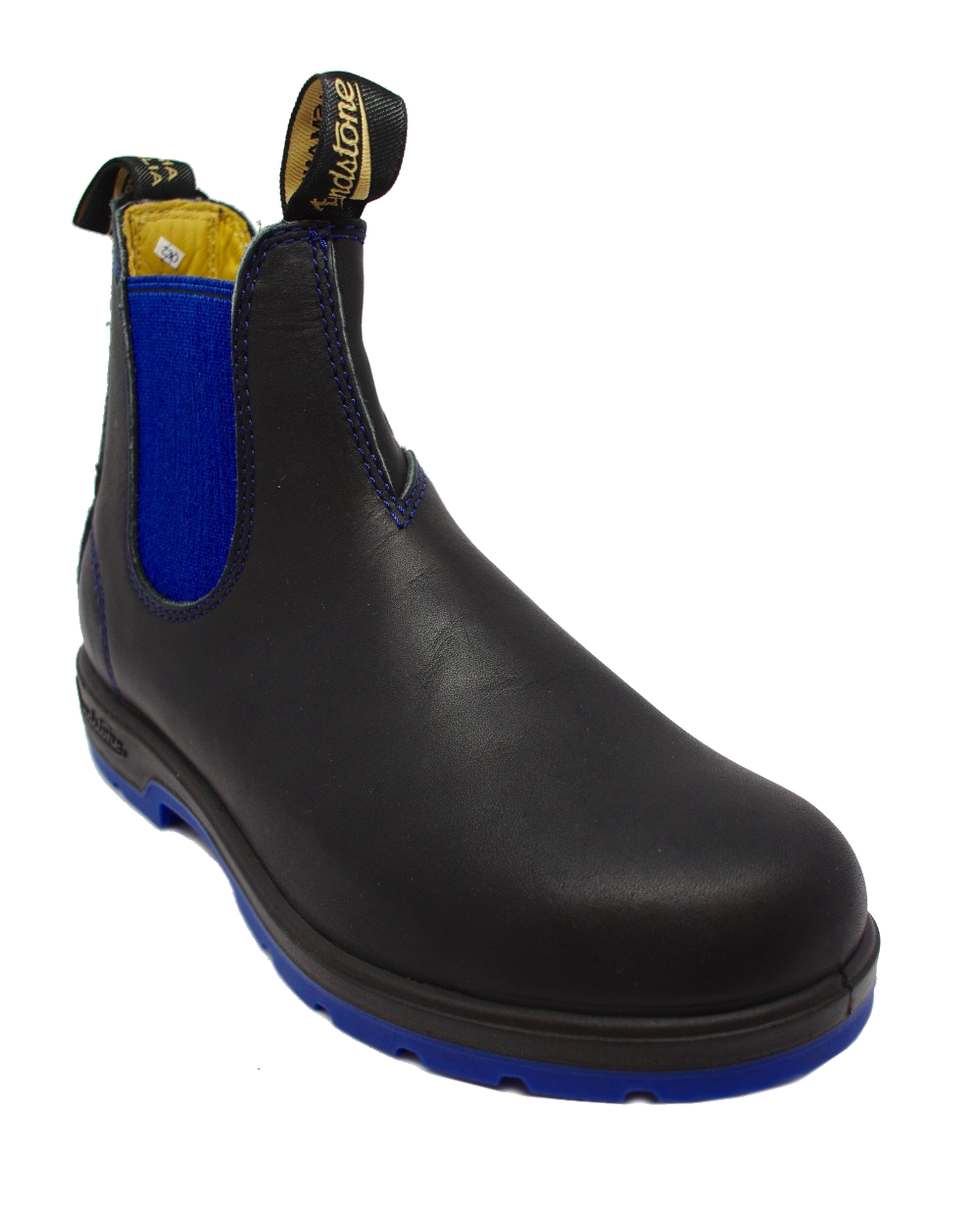 Blundstone 1403 Chelsea Boot in Black Blue Sole