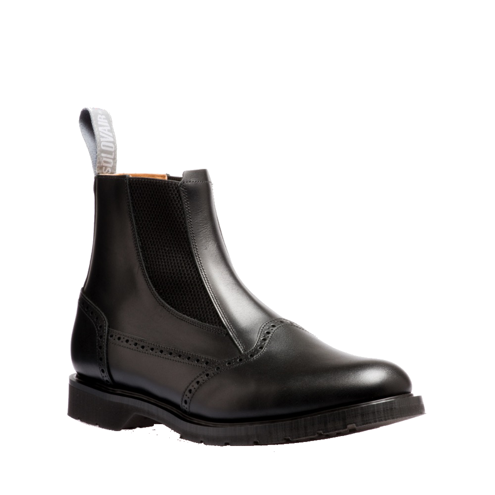Solovair Dealer Boot in Black