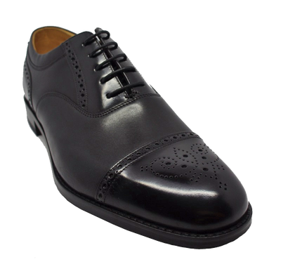 Loake Woodstock in Black