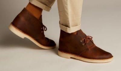 Clarks Desert Boots from English Brands - A Truly Signature Piece