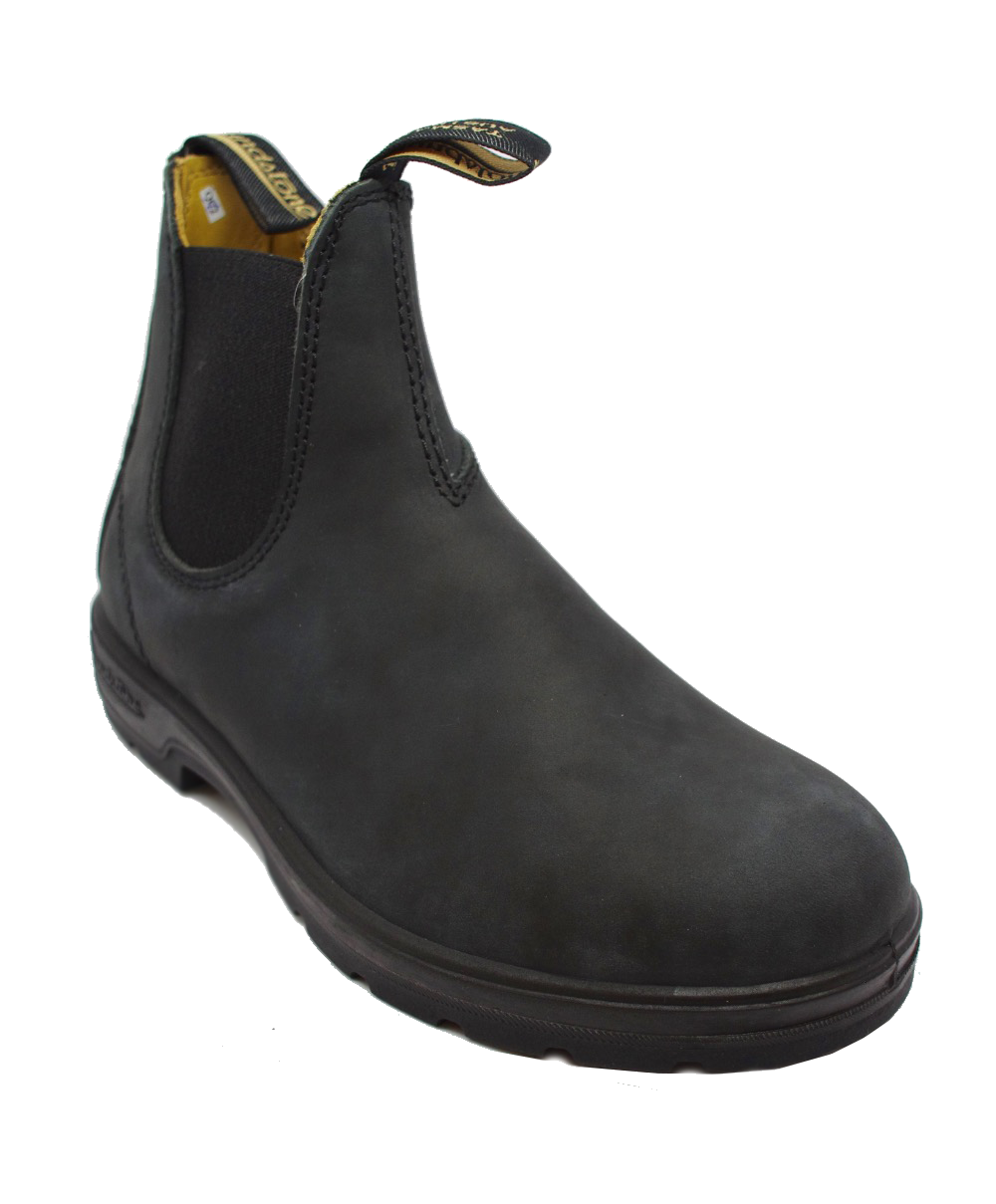 Blundstone 587 Chelsea Boot in Black Rustic
