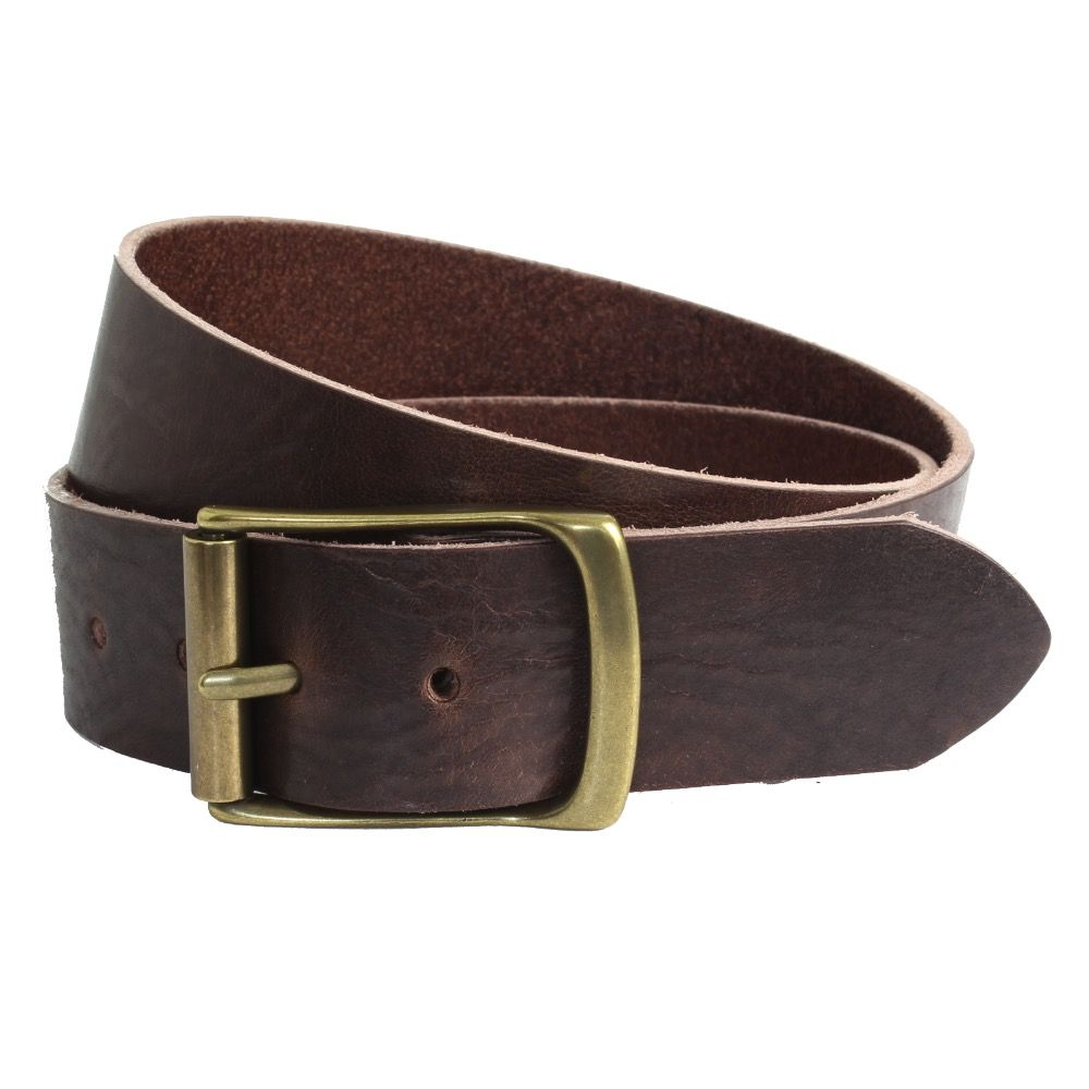 The British Belt Company Rollerston Brown Belt