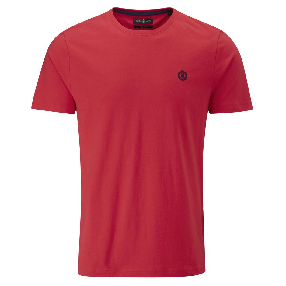 Henri Lloyd Radar Club Regular T-Shirts in Candy Red