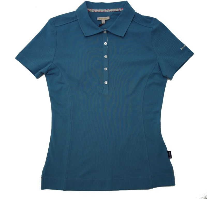 Barbour Thread Polo in Blue