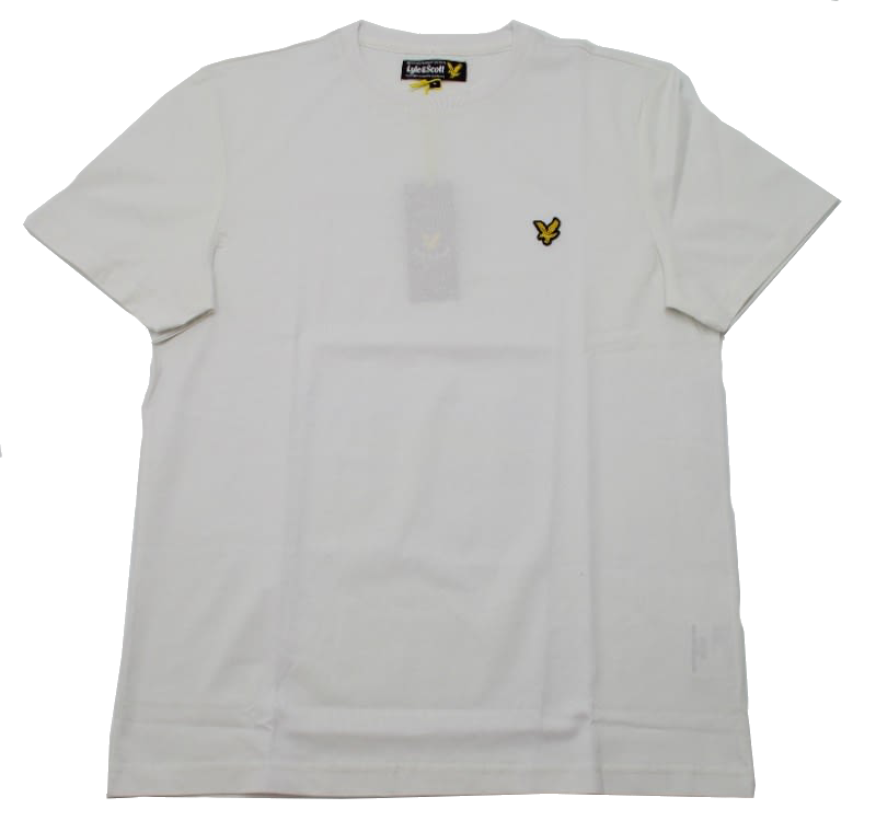 Lyle & Scott Vintage Crew Neck Jersey T-shirt in White