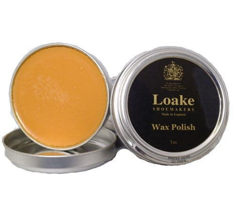 Loake Shoemakers Wax Polish Tan