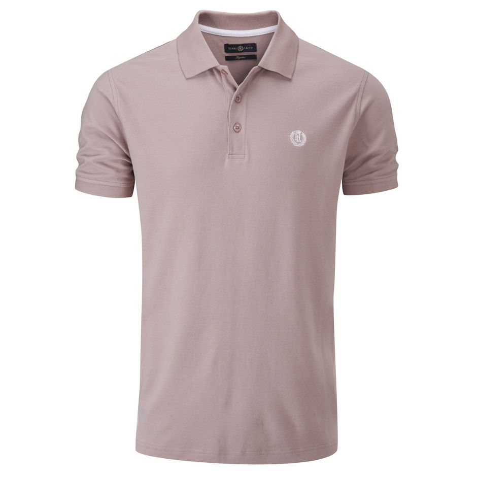 Henri Lloyd Abington Regular Polo in Woodrose