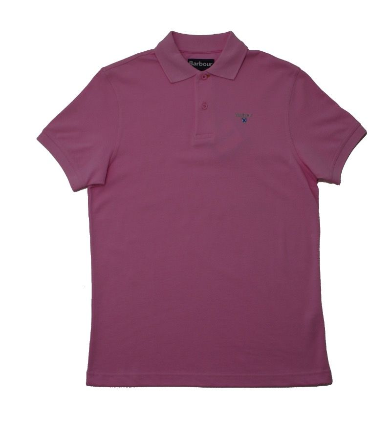 Barbour Sports Polo in Pink