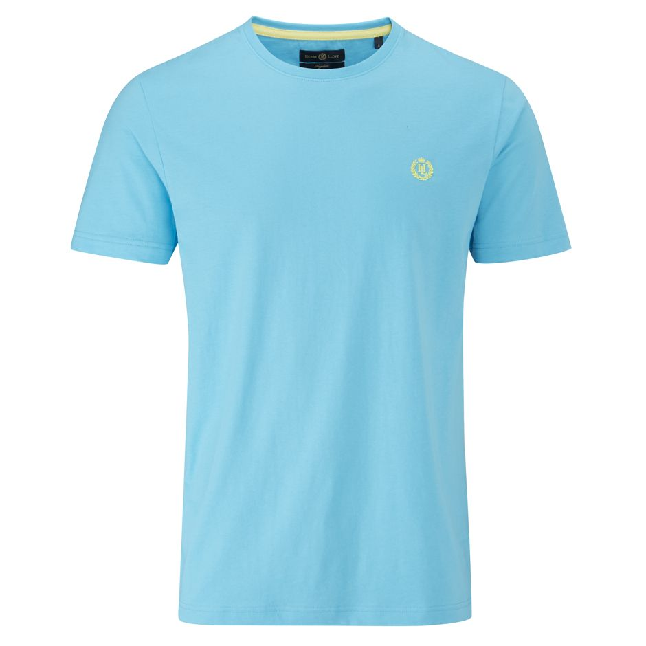 Henri Lloyd Radar Club Regular T-Shirts in Cyan