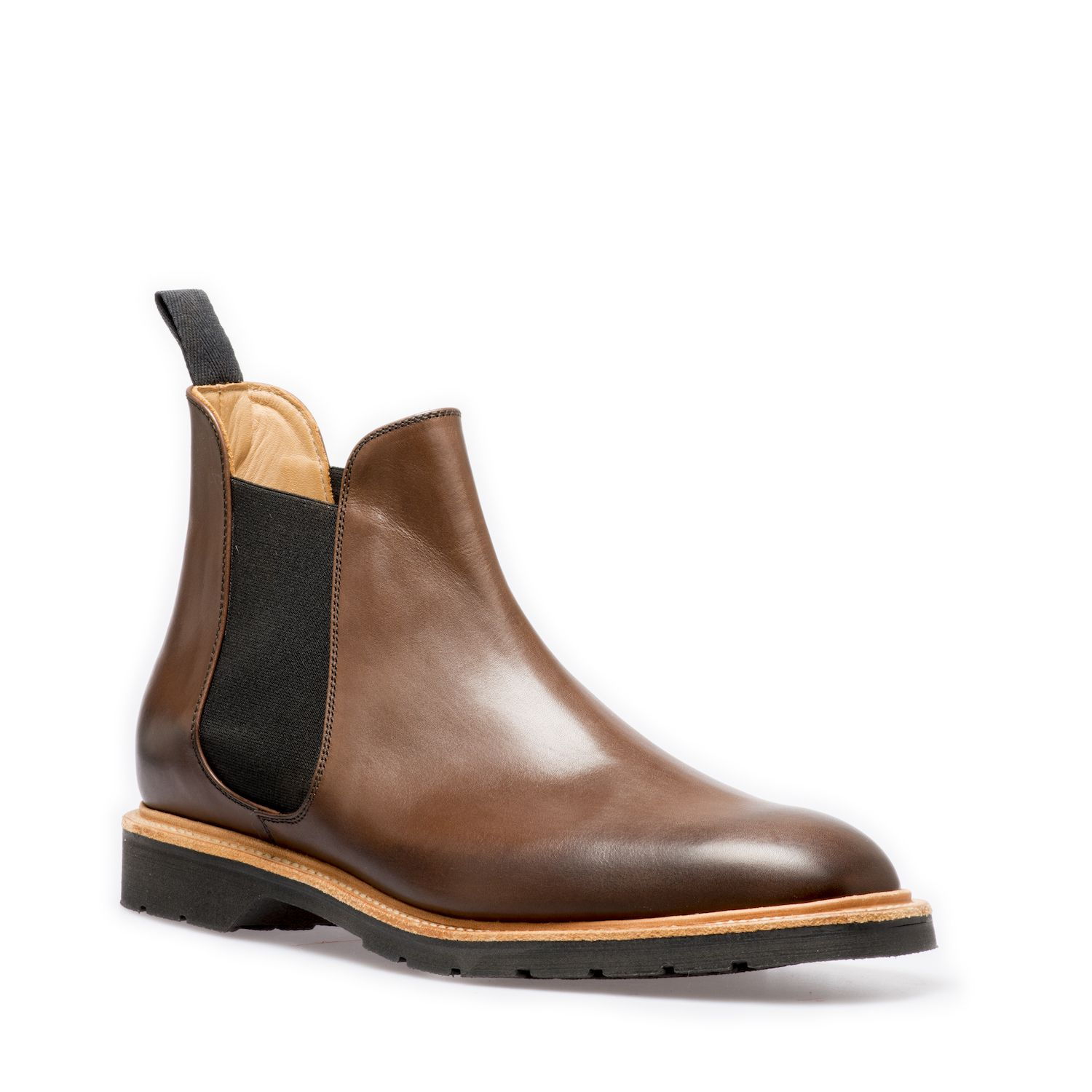 Solovair Chelsea Boot In Ebony
