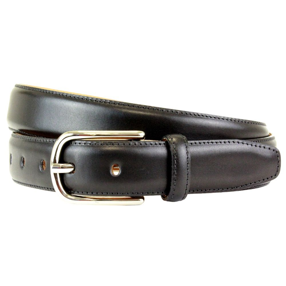 The British Belt Company Fairford Black Belt