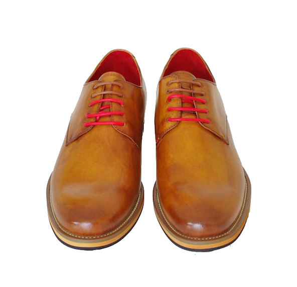 Justin Reece Martin Derby Shoe Brown