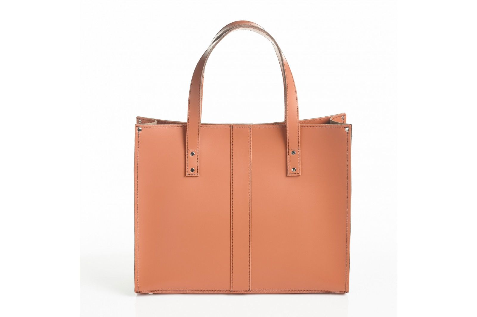 Zatchels Belvoir Shopper In Burnt Orange