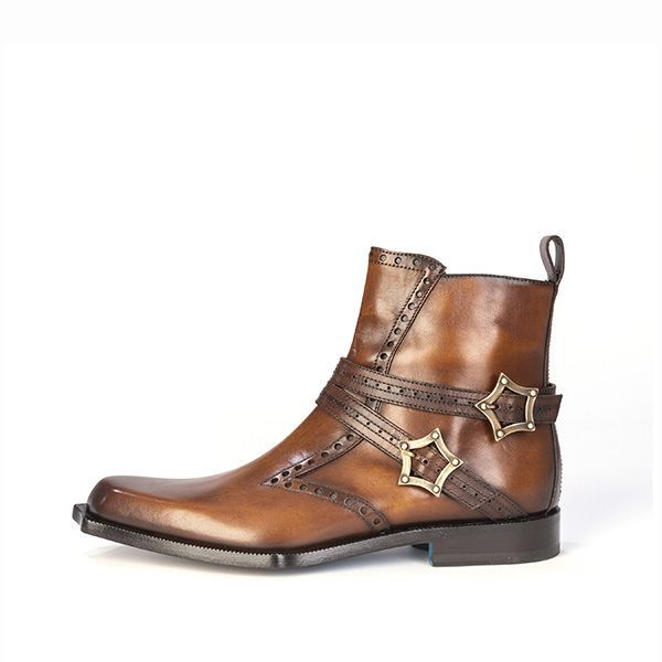 Twisk Firenze Jodhpur Boot in Antiqued Tan.jpg
