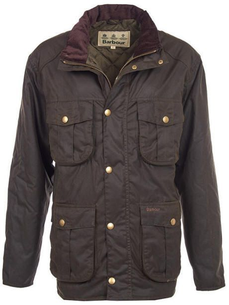Barbour Winter Utility Wax Jacket in Olive.jpeg