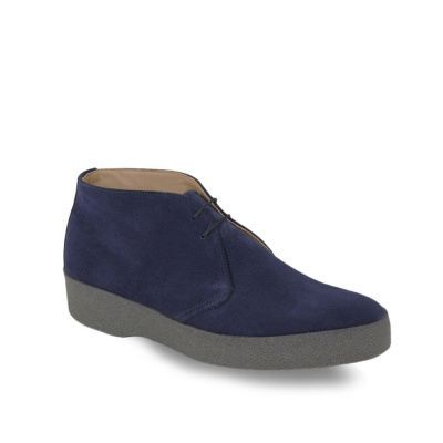 Sanders Hi-Top Chukka Boot in Navy Suede.jpg